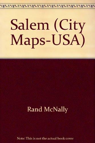 9780528980107: Salem Oregon Map (Rand McNally)