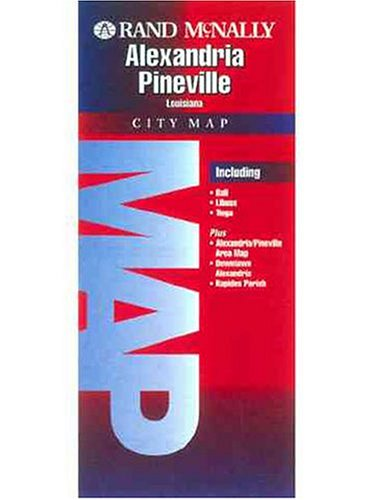 9780528980664: Folded Map-Alexandria & Pinesville (Rand McNally)