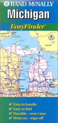Rand McNally Michigan EasyFinder Map: n/a