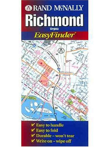9780528986178: Easyfinder-Richmond (Rand McNally Easyfinder)