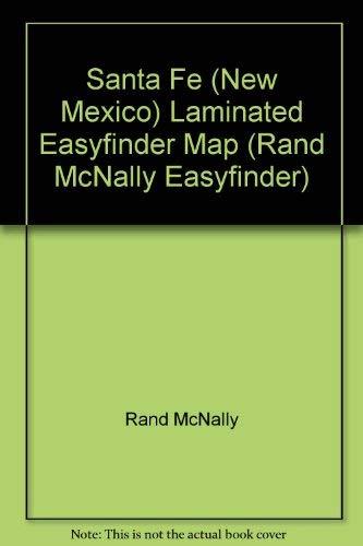 9780528986246: Rand McNally Santa Fe (Rand McNally Easyfinder)