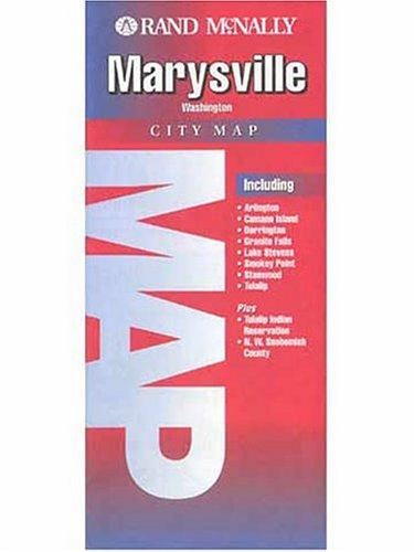 9780528987342: Marysville Map (Rand McNally City Maps)