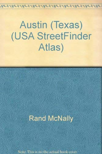 9780528990908: Rand McNally Austin Travis County Streetfinder: 2001 Edition (USA StreetFinder Atlas)