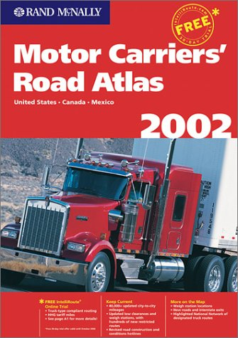 9780528991578: Rand McNally Motor Carriers' Road Atlas 2002: United States, Canada, Mexico