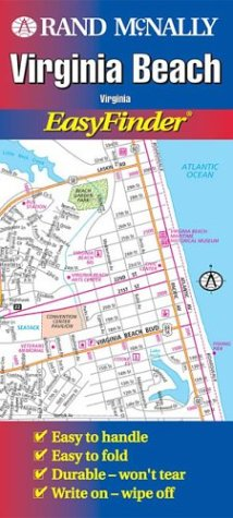 9780528991851: Virginia Beach (Virginia) (USA EasyFinder Laminated Folded Maps)