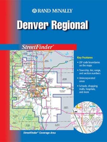 9780528992247: Rand McNally 2003 Denver Regional: Streetfinder