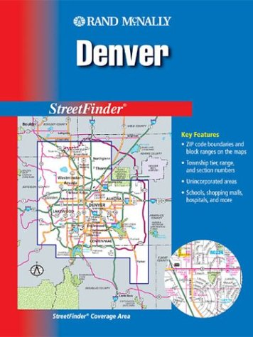 9780528992254: Street Finder Denver Metro Colorado