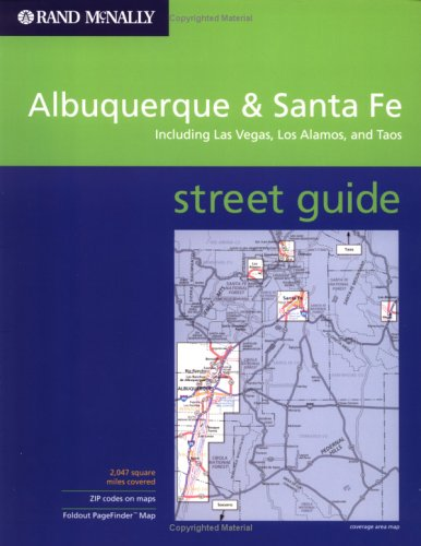 Rand McNally Albuquerque, Santa Fe and Taos: Street Guide