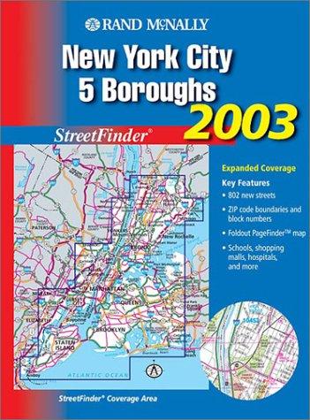 Rand Mcnally 2003 New York City 5