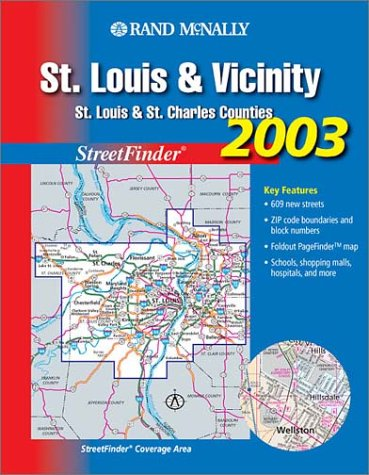 Streetfinder by rand mcnally company abebooks rand mcnally streetfinder st louis vicinity rand mcnally and sciox Image collections