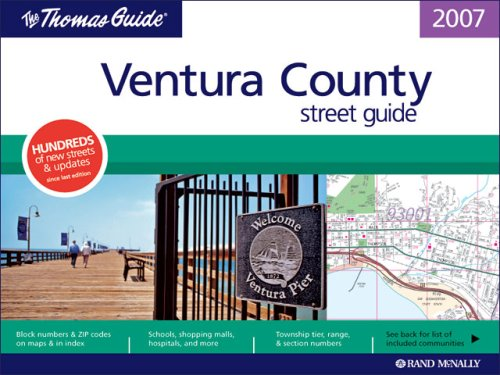 9780528993572: Ventura County Street Guide (Thomas Guide Easy-To-Read Ventura County Street Guide)