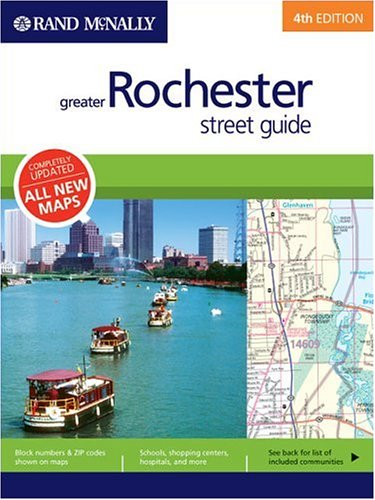 9780528994593: Rand McNally Greater Rochester, New York: Street Guide (Rand McNally Greater Rochester Street Guide)