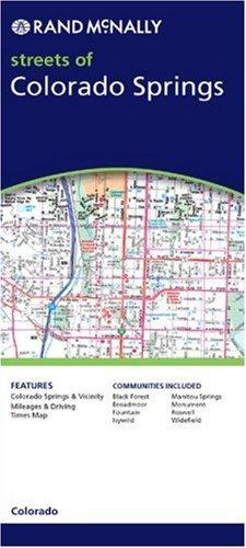 Colorado Springs (Rand McNally Folded Map: Cities): Rand McNally