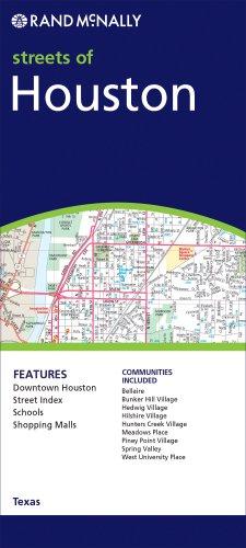9780528996429: **Houston (Texas) (Rand McNally Folded Map: Cities)