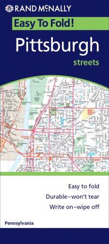 9780528996665: Easy Finder Pittsburgh: Local Street Detail (Rand McNally Easyfinder)