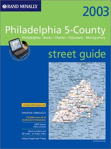 9780528996801: Philadelphia 5-County Metro Street Atlas: Philadelphia-Bucks-Chester-Delaware-Montgomery