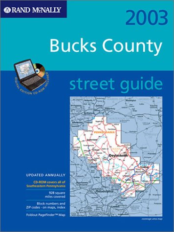 9780528996832: Rand McNally 2003 Street Guide Bucks County: Spiral