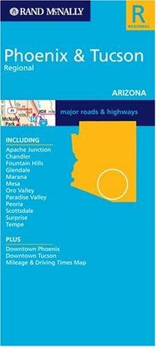 9780528997150: Rand McNally Phoenix & Tucson (Rand McNally City Maps)