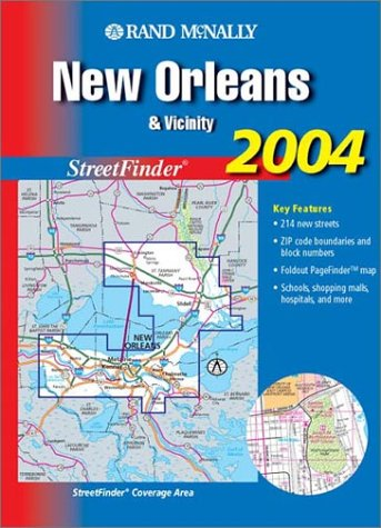 9780528998102: Rand McNally New Orleans & Vicinity Streetfinder (Rand McNally Streetfinder)