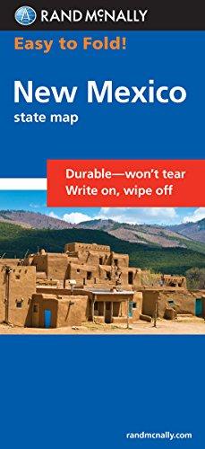 9780528998751: Easy To Fold: New Mexico (Rand McNally Easy to Fold!)