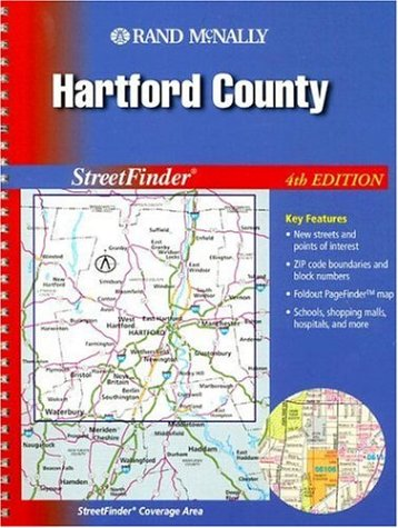 9780528998843: Rand McNally StreetFinder Hartford County, Conneticut 2004