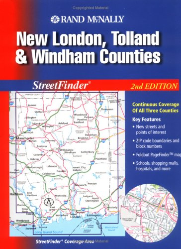 Rand McNally New London, Tolland & Windham: Rand McNally and