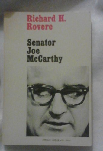 9780529021540: Senator Joe McCarthy