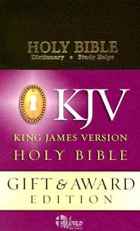 9780529031112: KJV Gift and Award Bible