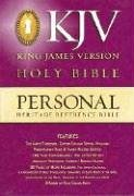 9780529033123: KJV Heritage Personal Reference Bible