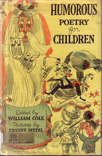 Humorous Poetry for Children: Cole, William; Ed