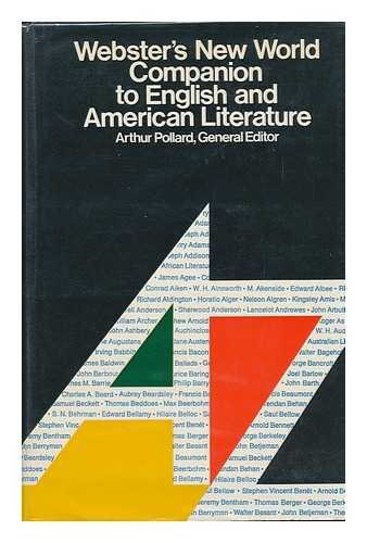 9780529050809: Webster's new world companion to English and American literature