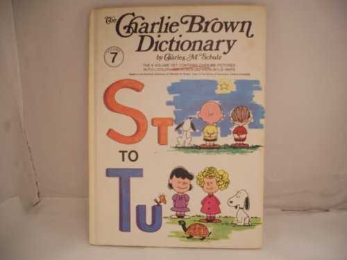 9780529050885: The Charlie Brown Dictionary, Volume 7: St to Tu