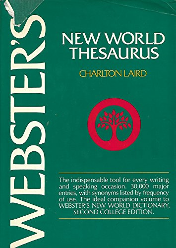 9780529051875: Websters New World Thesaurus