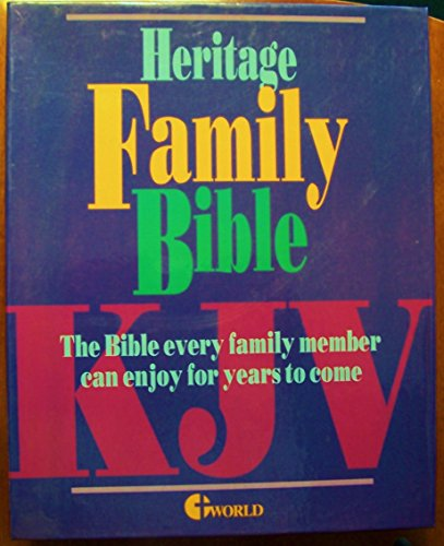 9780529053046: Heritage Deluxe Family Bible