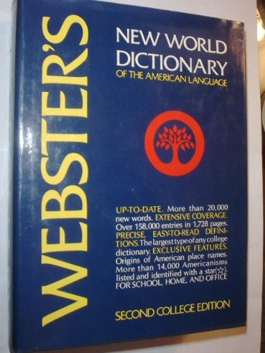 9780529053268: Webster's New World Dictionary of the American Language