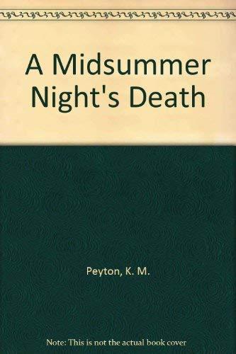 9780529054531: A Midsummer Night's Death