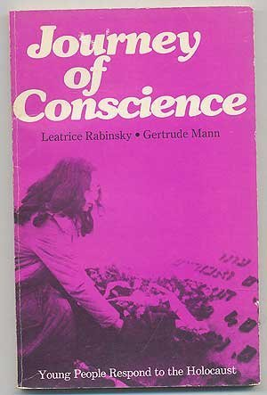 9780529056795: Journey of conscience: Young people respond to the Holocaust