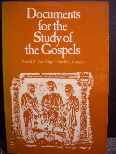 9780529057266: Documents for the Study of the Gospels