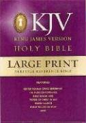 9780529058201: Large Print Heritage Reference Bible-KJV