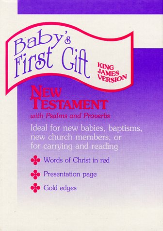 9780529059253: KJV Baby's First Gift New Testament (Baby's First Gift, Mw01)