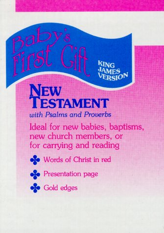 9780529059277: KJV Baby's First Gift New Testament (Baby's First Gift, M05)