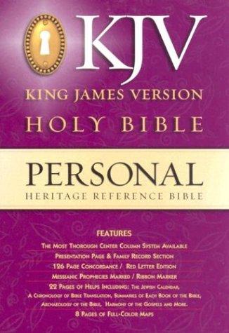 9780529060242: KJV Heritage Personal Reference Bible