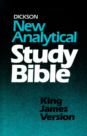 9780529061942: Dickson New Analytical Study Bible: King James Version