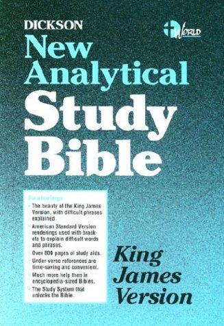 9780529062000: Dickson New Analytical Study Bible-KJV