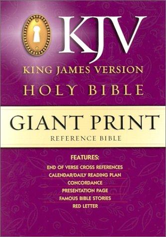 9780529063441: KJV Giant Print Reference Bible