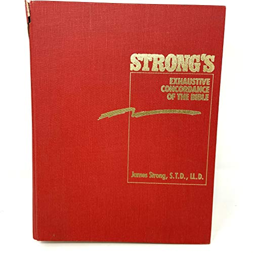 9780529066794: Strong's Exhaustive Concordance of the Bible/Words of Jesus Identified in Boldface Red Letter and a Key-Word Comparison