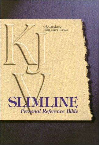 9780529067043: KJV Slimline Personal Reference Bible
