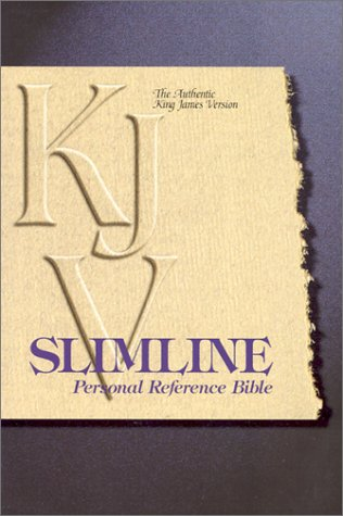 9780529067067: KJV Slimline Personal Reference Bible