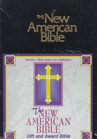 NABRE World Gift And Award Catholic Bible-Blk Imit