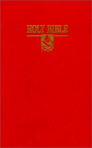 NRSV Pew Bible (0529068176) by Thomas Nelson
